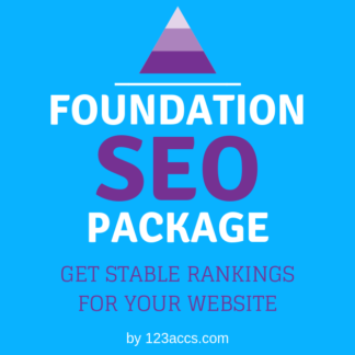 foundation links seo package 123accs.com