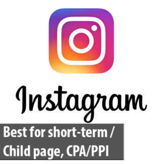 Instagram 2 years old aged account