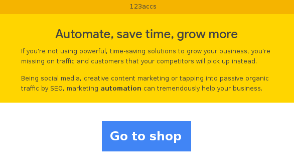 Automate, save time, grow more