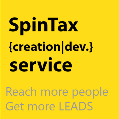 spintax creation service