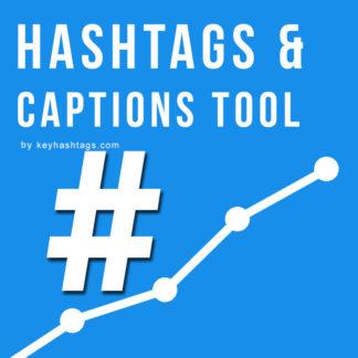 hashtags captions generator by keyhashtags.com